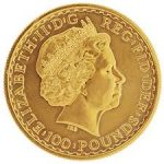 1oz Gold Britannia 22ct Version