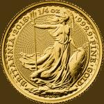 Gold Half Britannia