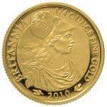 Gold Quarter Britannia