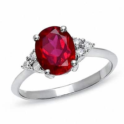 Ruby-Engagement-Ring ruby ring
