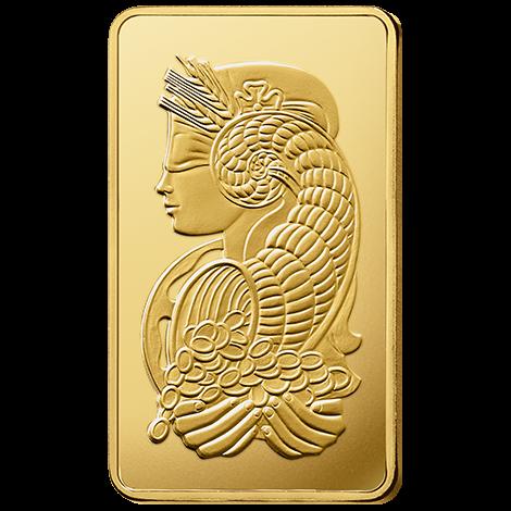 250g gold bar pamp