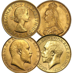 gold sovereign mix